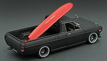 Load image into Gallery viewer, IG1395 ignition model 1:43 Nissan Sunny Truck Long B121 Matt Black Miyazawa