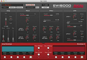 AKAI professional EWI5000 electronic wind synthesizer instruments AP-EWI-015