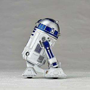 STAR WARS:REVO No.004 R2-D2 Figure KAIYODO NEW from Japan