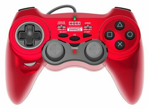 Hori Pad 3 PRO. Red PlayStation 3 PS3 Controller Video Game Japan