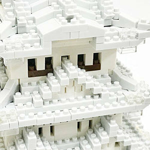 Nanoblock Himeji Castle Special Deluxe Edition NB-042 w/Tracking# form JAPAN F/S