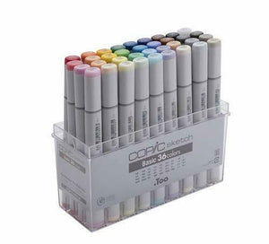 Too Copic Sketch basically 36 Colors Marker Set for Manga Anime With Tracking