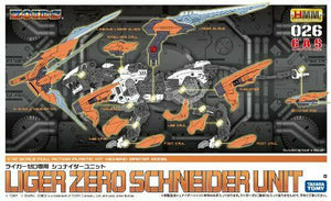 NEW KOTOBUKIYA ZOIDS HMM 026 LIGER ZERO SCHNEIDER UNIT 1/72 Plastic Model Kit