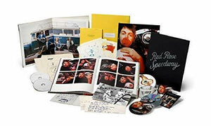 FREE SHIP Paul McCartney Red Rose Speedway JAPAN 3 SHM CD + 2 DVD BLU-RAY BOX