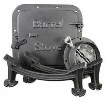 Load image into Gallery viewer, Cast Iron Barrel Stove Kit Convert 30/55 Gal Drum into Wood Stove Heating Fire