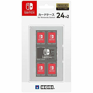 HORI Card Case 24 + 2 for Nintendo Switch White New L