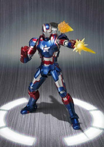 NEW S.H.Figuarts Iron Man Iron Patriot Action Figure BANDAI TAMASHII NATIONS F/S