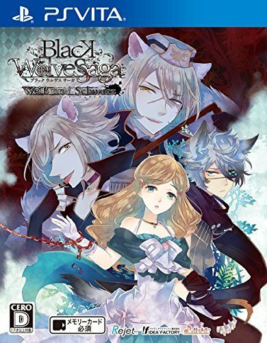PS Vita BLACK WOLVES SAGA Weiβ und Schwarz w/tracking# From JAPAN Free Shipping
