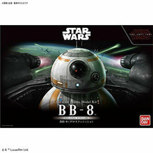 Load image into Gallery viewer, BANDAI 1/2 Star Wars THE LAST JEDI BB-8 GLOSS FINISH Ver Plastic Model Kit NEW