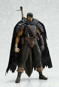 figma Berserk Guts Figure Black Swordman ver. Max Factory Japan