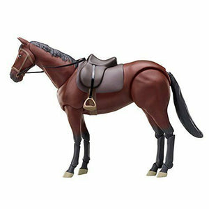 Figma 246a horse (Brown) 16 cm ABS & ATBC-PVC painted movable figure Japan NEW
