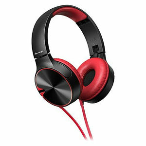 Pioneer SE-MJ722T BASS HEAD Closed Dynamic Folding Headphones Red from Japan
