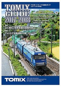 TOMIX N gauge Guide Book 2017-2018 N scale 7039 F/S Tracking