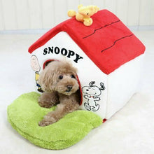 Load image into Gallery viewer, Snoopy garden with red roof House Smal lWashable Pet paradise 99855259 EMS Free
