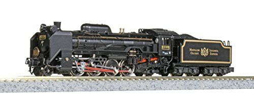 KATO N Gauge D51 498 Orient Express 1988 Model Train Steam Locomotive from Japan