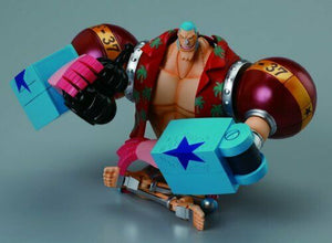 NEW CHOGOKIN One Piece FRANKY Action Figure BANDAI TAMASHII NATIONS F/S