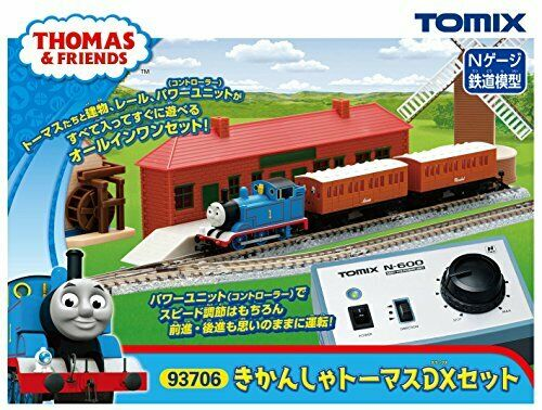 TOMIX N scale Thomas and Friends Thomas DX Set 93706 Model Train Model Set