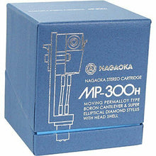 Load image into Gallery viewer, NAGAOKA MP-300H STEREO CARTRIDGE+HEADSHELL FROM JAPAN w/ TRACKING FREE SHIPPING