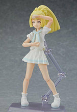 Load image into Gallery viewer, Figma Lively Lillie 392 Pokemon Max Factory Action Figure w/Pokemon Center Bonus