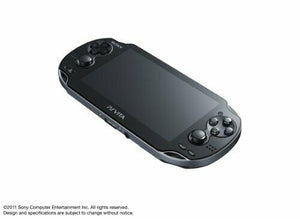 PS Vita 3G / Wi-Fi Model Crystal Black Limited Edition (PCH-1100AB01)F/S