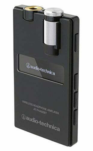 Audio-Technica AT-PHA50BT Bluetooth Wireless Headphone Amplifier Black F/S
