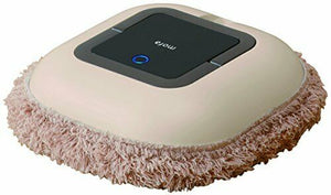 NEW!! CCP Poodle Beige ZZ-MR2-BE Automatic Mop Robot Vacuum Cleaner