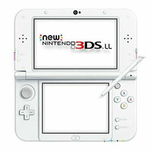 Load image into Gallery viewer, NEW new Nintendo 3DS LL Console System Pink White w/ amiibo NFC JAPAN F/S not XL