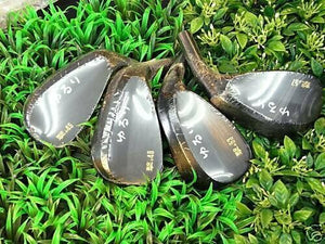 YURURI JAPAN KEIGEKIKU TARGET SPIN FORGED 5357 WEDGE SET x2 Heads Only