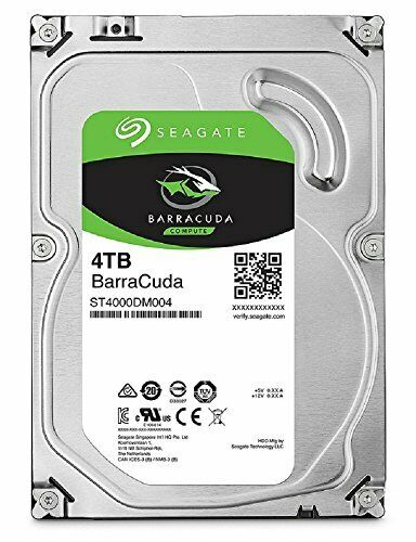 Seagate 4TB SATA 6Gb/s/5400rpm Internal Hard Drive 3.5 BarraCuda Japan
