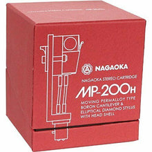Load image into Gallery viewer, NAGAOKA MP-200H STEREO CARTRIDGE+HEADSHELL FROM JAPAN w/ TRACKING FREE SHIPPING