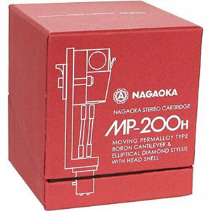 NAGAOKA MP-200H STEREO CARTRIDGE+HEADSHELL FROM JAPAN w/ TRACKING FREE SHIPPING