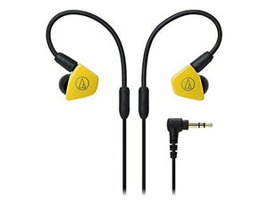 Audio-technica Japan Dual Dynamic In-Ear Headphones ATH-LS50 Yellow from Japan