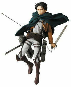 NEW Medicom Toy Real Action Heroes Attack on Titan Levi Limited Edition