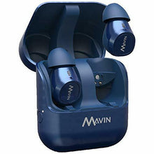 Load image into Gallery viewer, NEW MAVIN Wireless Bluetooth Earphone Air-X Blue from Japan w/ Tracking NEW