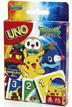 Load image into Gallery viewer, UNO Pocket Monster (Pokemon) Card Game  Trump Japanese Anime  Japan F/S