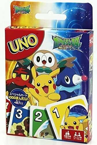 UNO Pocket Monster (Pokemon) Card Game  Trump Japanese Anime  Japan F/S