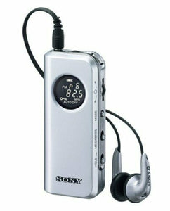 SONY SRF-M98 Synthesized Tuning Small Portable Radio Tuner AM/FM Japan NEW