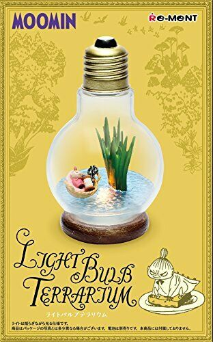 Re-Ment Moomintroll MOOMIN Light Bulb Terrarium(Little MY) F/S Japan
