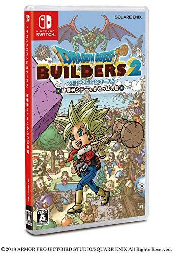 Dragon Quest Builders 2 Hakaishin  NINTENDO SWITCH REGION FREE JAPANESE VERSION