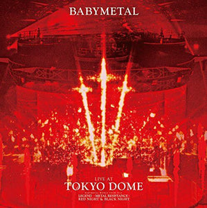 BABYMETAL 2 Blu-ray LIVE AT TOKYO DOME First Limited Edition JAPAN