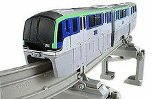 Load image into Gallery viewer, Takara Tomy Plarail Tokyo Monorail Type 10000 Set