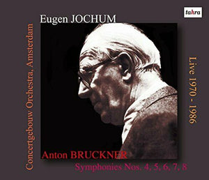 Eugen Jochum Bruckner Symphonies No.4-8 Live 1970-1986 tahra JAPAN 6CD set NEW