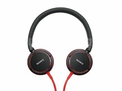 SONY sealed Headphone Red MDR-ZX600 R Japan With track F/S