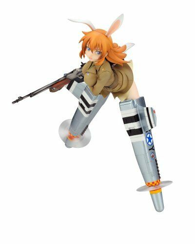 ALTER Strike Witches Charlotte E. Yeager 1/8 PVC Figure NEW from Japan F/S