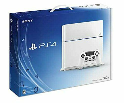 PlayStation 4 Glacier ・ White 500 GB (CUH1100AB02)