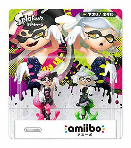 Nintendo 3DS Wii U Amiibo Splatoon Squid Sisters Callie & Marie From Japan