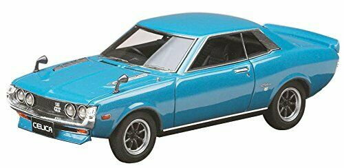 Hobby Japan MARK 43 1/43 Toyota Celica (TA 22) Sports wheel Blue metallic