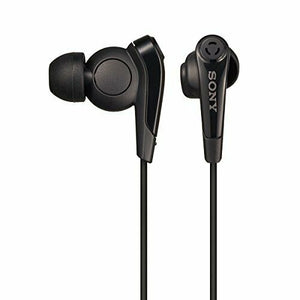 Sony MDR-EX31BN Bluetooth Wireless Noise Canceling Stereo Headphones Black NEW