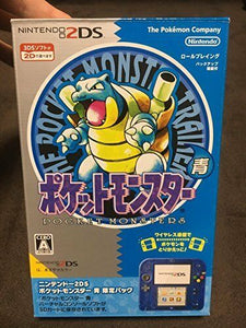 NINTENDO 2DS [POCKET MONSTER BLUE POKEMON STORE LIMITED PACK]  NEW JAPAN VERSION