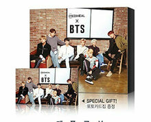 Load image into Gallery viewer, MEDIHEAL BTS 4SET Ver of Special Set Mask Sheets 40ea + Photocard 56ea KPOP